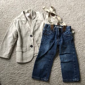 Gymboree 2-piece outfit for boys